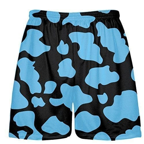LightningWear-Black-Powder-Blue-Cow-Print-Shorts-Cow-Shorts-B079BHDLF9.jpg