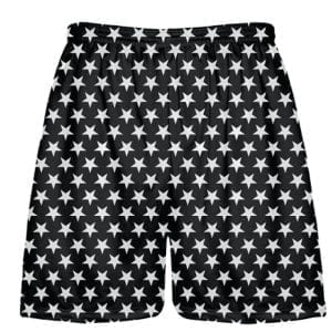 Black White Stars Shorts