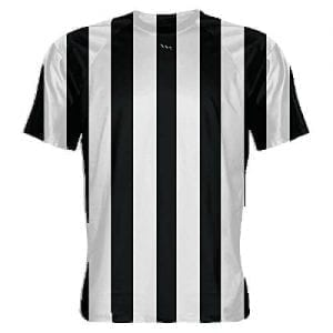 Black-and-White-Striped-Soccer-Jerseys