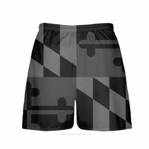 Blackout-Maryland-Flag-Shorts