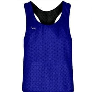 Royal Blue Black Racerback