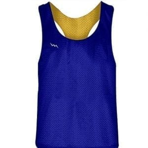 Royal Blue Gold Racerback