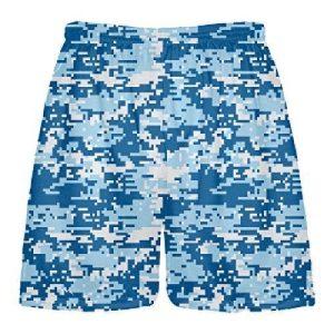 Blue Digi Camo Shorts