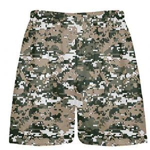 Camouflage Lacrosse Shorts