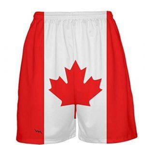 Canada-Flag-Basketball-Shorts