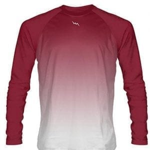 Cardinal-Red-Long-Sleeve-Lacrosse-Shirts