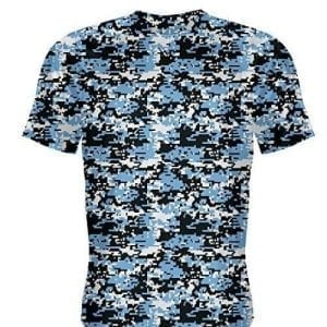 Carolina Blue Digital Camouflage Basketball Shooter Shirts
