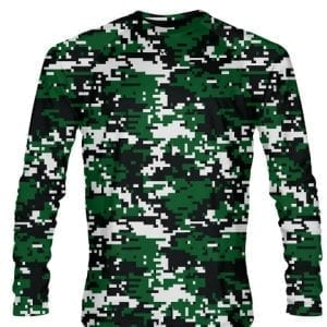 Dark-Green-Digital-Camouflage-Long-Sleeve-Shirts