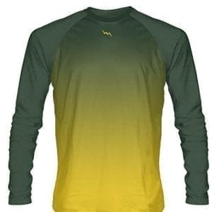 Dark-Green-Long-Sleeve-Lacrosse-Shirts