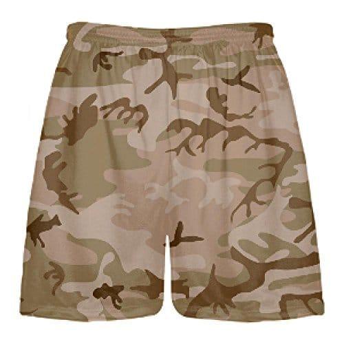 LightningWear Youth Pink Digital Camouflage Lax Shorts Pink