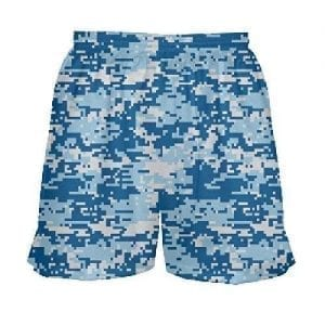 digital camouflage shorts