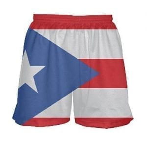 puerto rico flag shorts