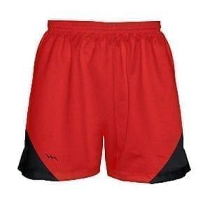 Girls-Red-and-Black-Basketball-Shorts