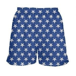 womens shorts with stars