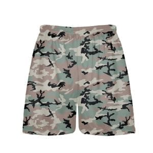 Green-Camouflage-Shorts