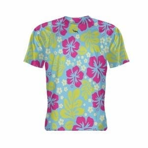 Hawaiian-Print-Short-Sleeve-Shirt