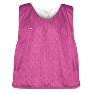 Hot Pink Soccer Pinnies
