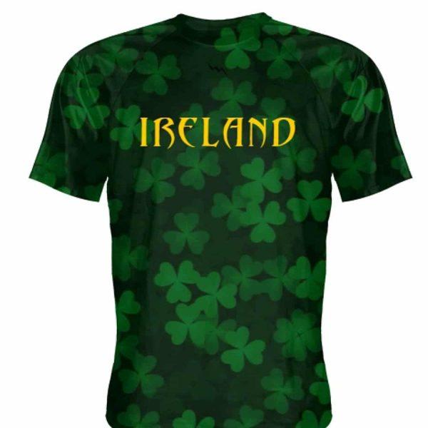 LightningWear Ireland Shirt - repeat Shamrock Shirt - Custom ...