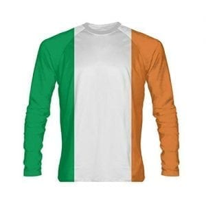 Irish Flag Long Sleeve Shirt