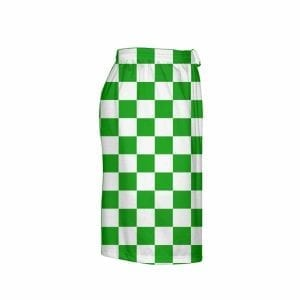 Kelly-Green-Checker-Board-Shorts