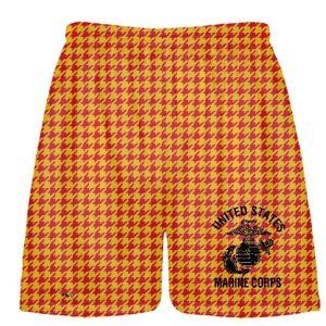 Houndstooth Marine Shorts