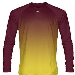 Maroon-Long-Sleeve-Lacrosse-Shirts