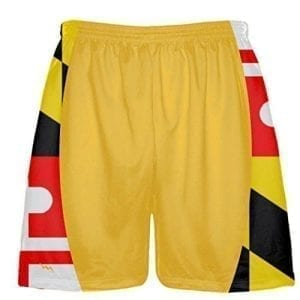 Maryland Flag Custom Lacrosse Shorts