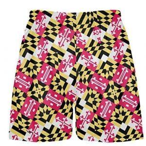 Funky Pattern Lacrosse Shorts