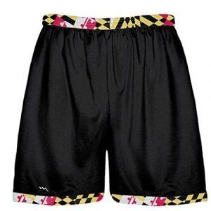 Maryland Flag Shorts Black