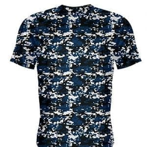 Navy Blue Camouflage Shirts