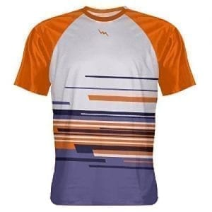 Orange Abstract Shooting Shirts