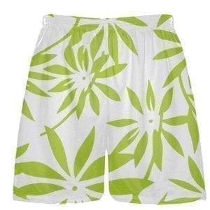 hawaiian basketball shorts