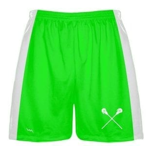 Neon Green Lacrosse Short