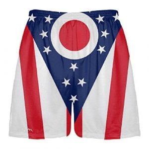 Ohio Flag Lacrosse Shorts