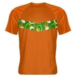 orange custom t shirts