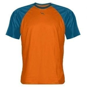 Orange Ocean Blue Warm Up Shirts