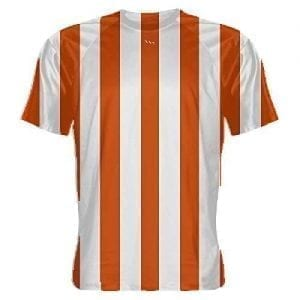 Orange-and-White-Striped-Soccer-Jerseys