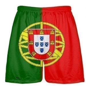 Portugal Flag Shorts