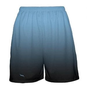 Powder-Blue-To-Black-Fade-Basketball-Shorts