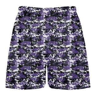 Lacrosse Shorts Digital Camouflage