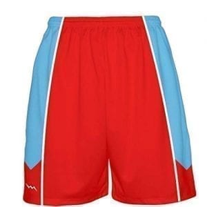 Red-Basketball-Shorts