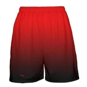 Red-Black-Fade-Basketball-Shorts