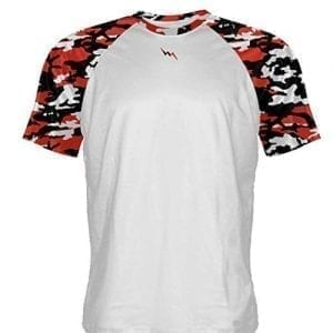 Red Camouflage Shirts