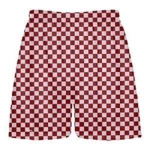 Red-Checker-Board-Shorts