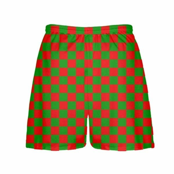 LightningWear-Red-Green-Checker-Board-Christmas-Shorts-Green-Checkerboard-Lacrosse-Shorts-Athletic-Shorts-B0785L2V3P-2.jpg