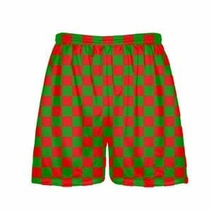 Red-Green-Checker-Board-Christmas-Shorts