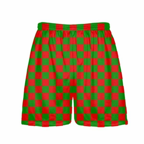 LightningWear-Red-Green-Checker-Board-Christmas-Shorts-Green-Checkerboard-Lacrosse-Shorts-Athletic-Shorts-B0785L2V3P.jpg