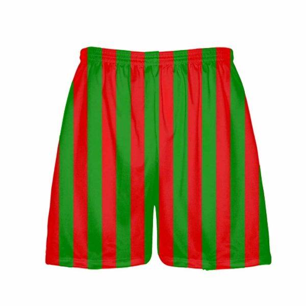 LightningWear-Red-Green-Stripe-Christmas-Shorts-Green-Red-Striped-Lacrosse-Shorts-Athletic-Shorts-B077Y2GBCW.jpg