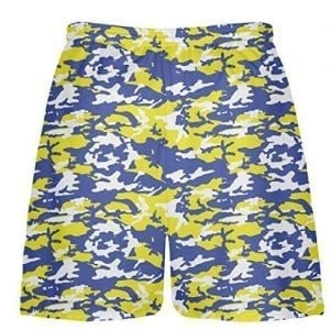 Royal-Blue-Yellow-Camouflage-Lacrosse-Shorts
