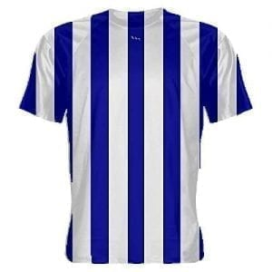 Royal-Blue-and-White-Striped-Soccer-Jerseys